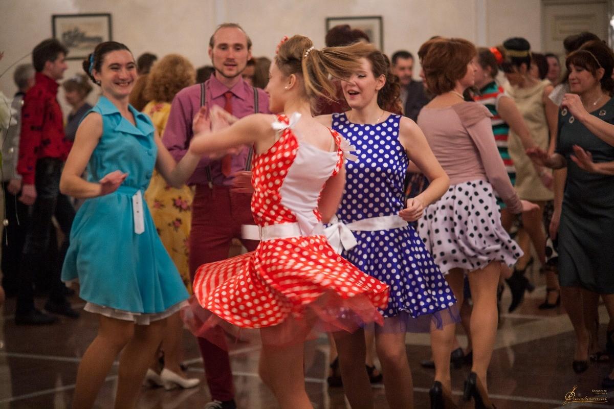 Модный танец 60-х лет